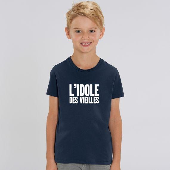 T-shirt Enfant L'idole des vieilles