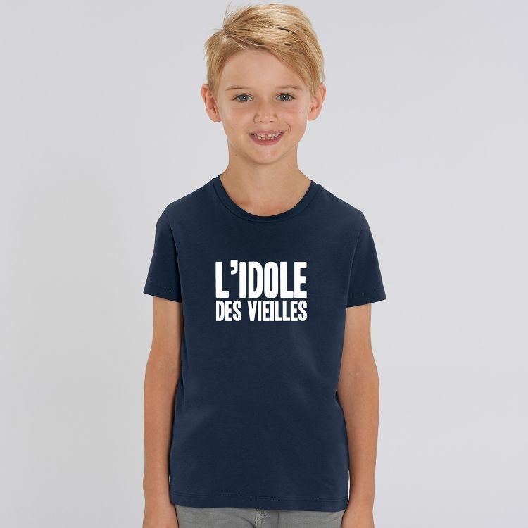 T-shirt Enfant L'idole des vieilles - 1