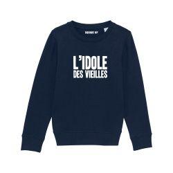 Sweat-shirt Enfant L'idole des vieilles - 2