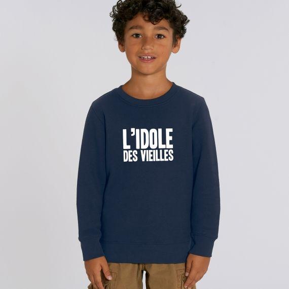 Sweat-shirt Enfant L'idole des vieilles