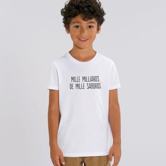 T-shirt Enfant Mille milliards de mille sabords