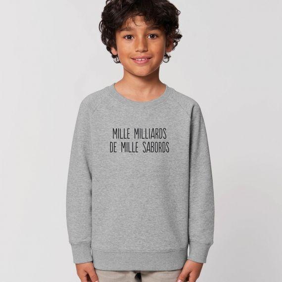 Sweat-shirt Enfant Mille milliards de mille sabords