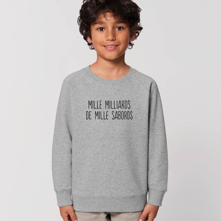 Sweat-shirt Enfant Mille milliards de mille sabords - 1