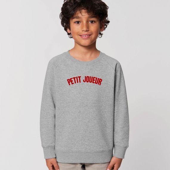 Sweat-shirt Enfant Petit Joueur