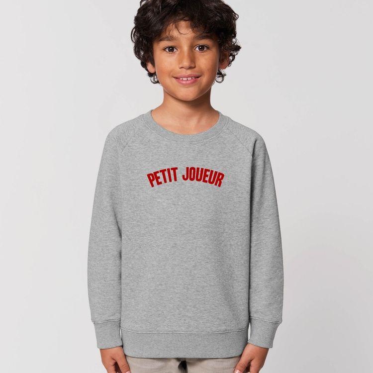 Sweat-shirt Enfant Petit Joueur - 1