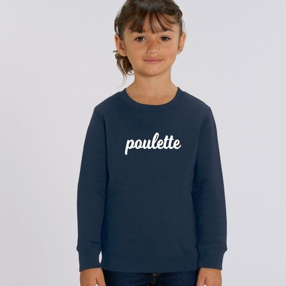 Sweat-shirt Enfant Poulette