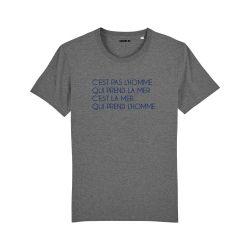 T-shirt C'est pas l'homme qui prend la mer - Homme - 3