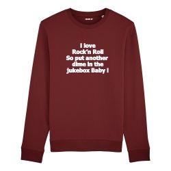 Sweatshirt I love Rock n Roll - Homme - 3