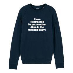 Sweatshirt I love Rock n Roll - Homme - 4