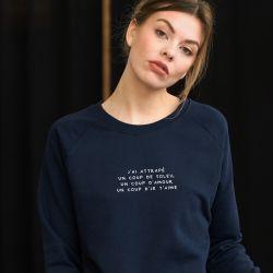 Sweatshirt Le coup d'soleil - Femme - 1
