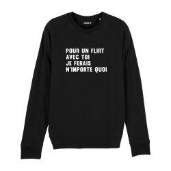Sweatshirt Pour un flirt avec toi - Homme - 2