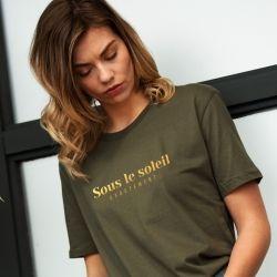T-shirt Sous le soleil exactement - Femme - 1