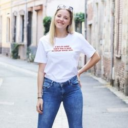 T-shirt A force de vouloir rentrer dans le moule - Femme - 2