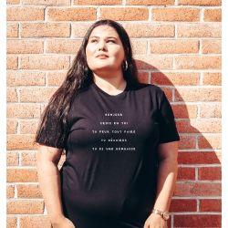 T-shirt Bonjour crois en toi- Femme - 2
