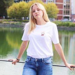 T-shirt Pluie de coeur - Femme - 2