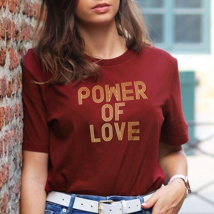 T-shirt Power of love - Femme - 2