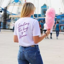 T-shirt Sometimes the king is a woman - Femme - 1