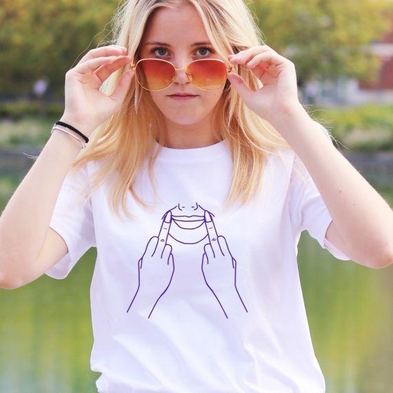 T-shirt Souris tu seras plus jolie - Femme