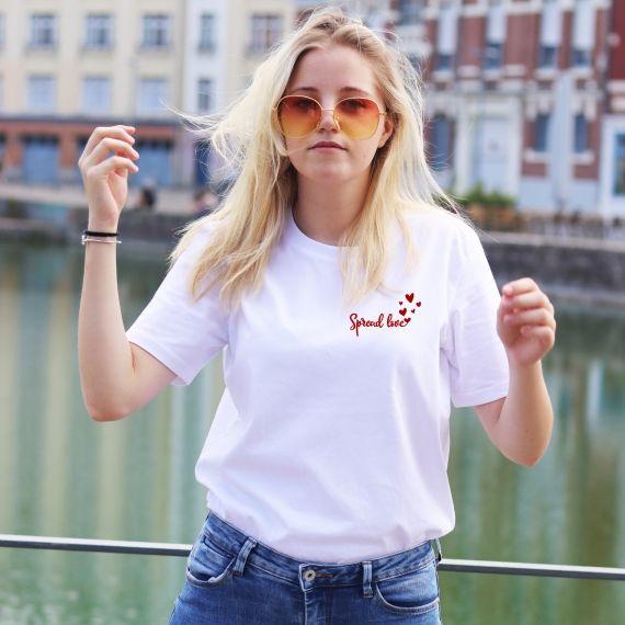 T-shirt Spread Love - Femme