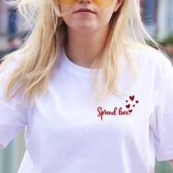 T-shirt Spread Love - Femme - 2