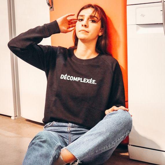Sweat-shirt Décomplexée - Femme