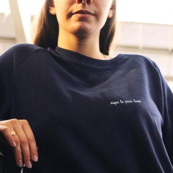 Sweat-shirt Nique la peau lisse - Femme