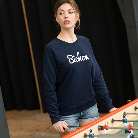 Sweatshirt Bichon - Femme
