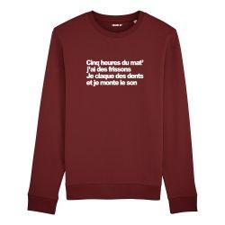 Sweatshirt Cinq heures du mat' - Homme - 6