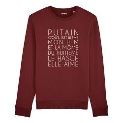 Sweatshirt Dans mon H.L.M - Homme - 4