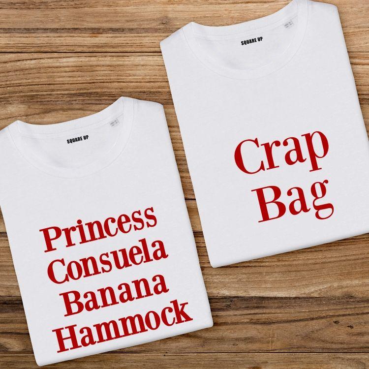 T-shirts Assortis Princess Consuela & Crap Bag - 1
