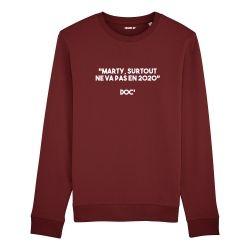 Sweatshirt Marty, surtout ne va pas en 2020 - Homme - 3