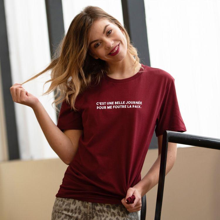 T-shirt C'est une belle journée - Femme - 2