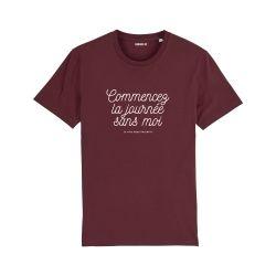 T-shirt Commencez la journée sans moi - Femme - 4