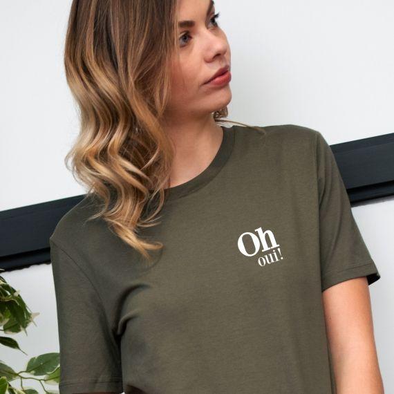T-shirt Oh Oui !- Femme