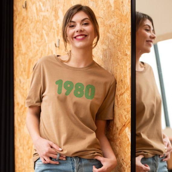 T-shirt 1980 - Femme