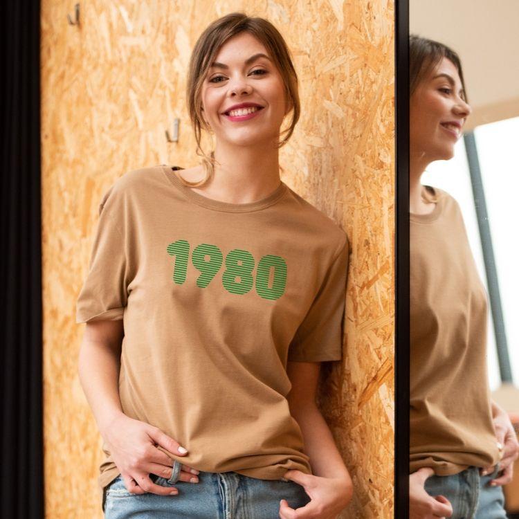 T-shirt 1980 - Femme - 1