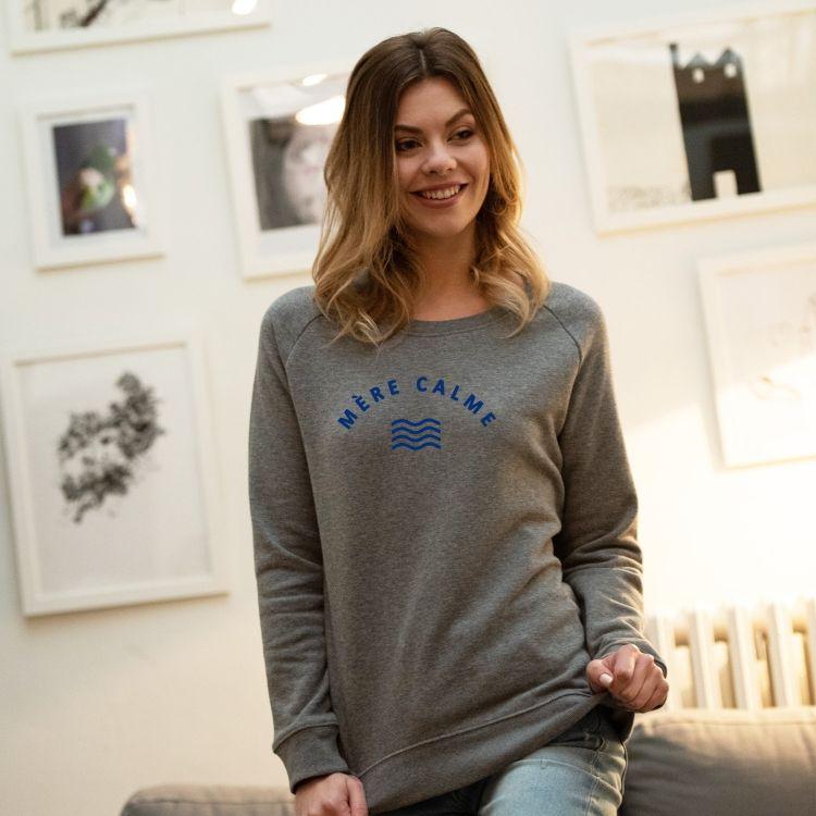 Sweatshirt Mère calme - Femme - 1