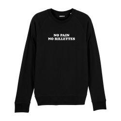 Sweatshirt No pain no rillettes - Homme - 3