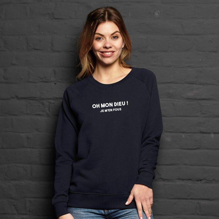 Sweatshirt Oh mon dieu - Femme - 1
