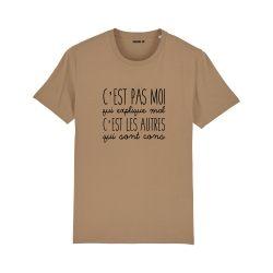 T-shirt C'est pas moi qui explique mal - Homme - 2