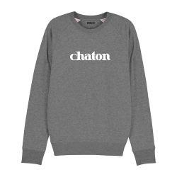 Sweatshirt Chaton - Homme
