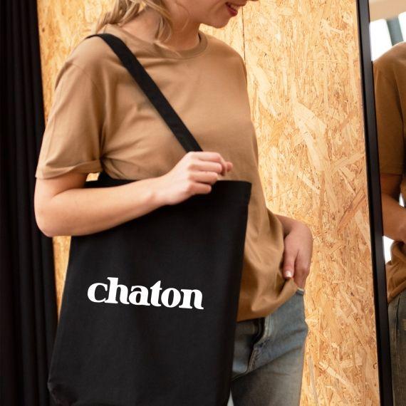 Tote Bag Chaton
