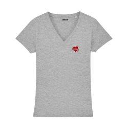T-shirt col V - Maman Tatoo - Femme - 5