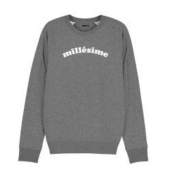 """Sweatshirt Homme """"Millésime"""" personnalisé - 1"""