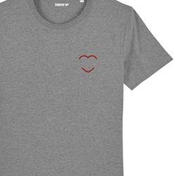 T-shirt Femme coeur rouge personnalisé - 2
