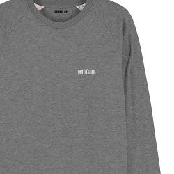 """Sweatshirt Homme """"qui déchire"""" personnalisé - 2"""