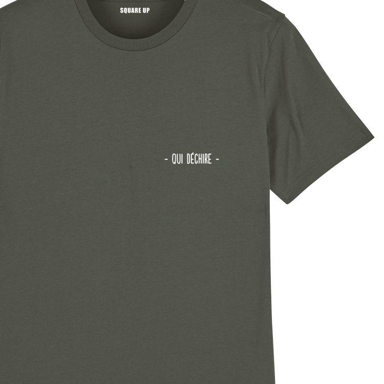 """T-shirt Femme """"qui déchire"""" personnalisé - 5"""