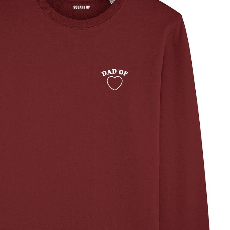 "Sweatshirt Homme ""Dad of"" personnalisé - 3"