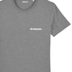 """T-shirt Homme """"d'amour"""" personnalisé - 3"""