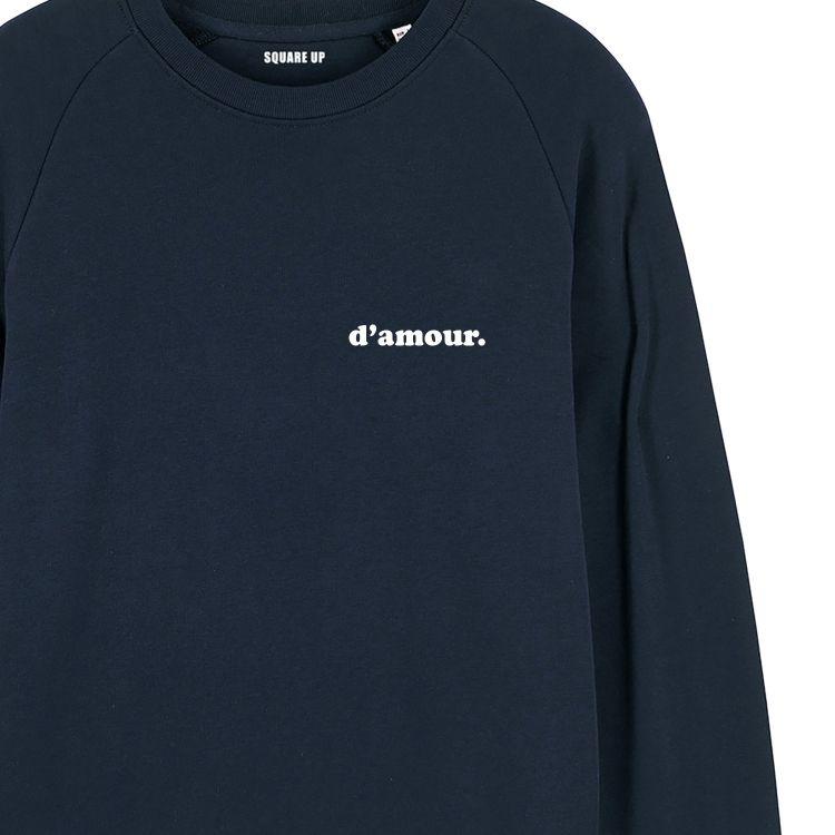 """Sweatshirt Homme """"d'amour"""" personnalisé - 4"""